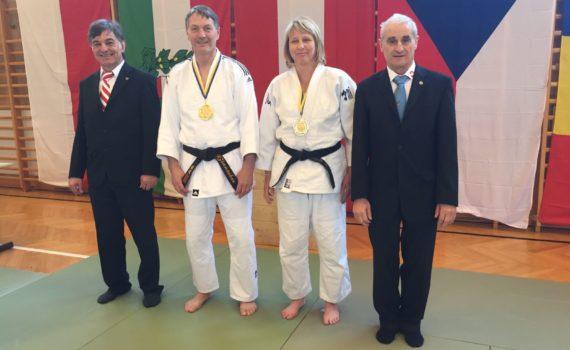 Goldmedaille für Günter Zinnöcker und Karin Maierhofer in Krems